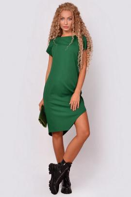Платье PATRICIA by La Cafe С15151 ярко-зеленый