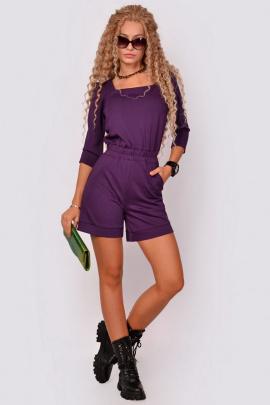 Комбинезон PATRICIA by La Cafe NY15142 фиолетовый