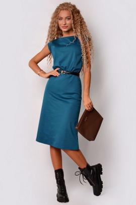 Платье PATRICIA by La Cafe F15116 морская_волна