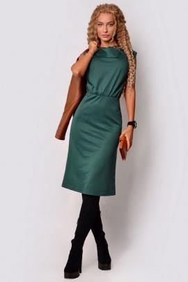 Платье PATRICIA by La Cafe F15116 зеленый