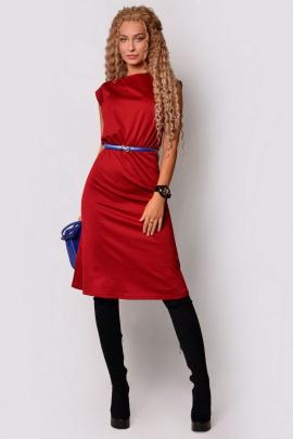 Платье PATRICIA by La Cafe F15116 винный