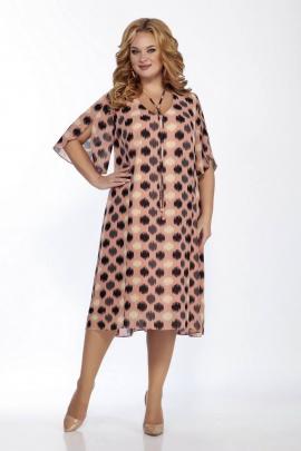 Платье LaKona 1221 пудра