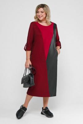 Платье Pretty 2056 бордо