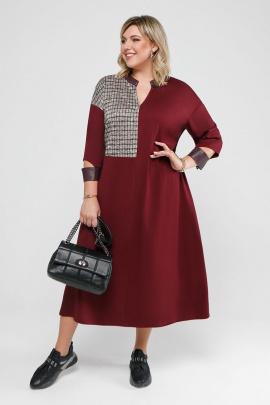 Платье Pretty 2053 бордо