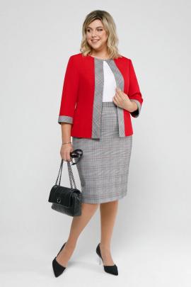Женский костюм Pretty 2035 красный