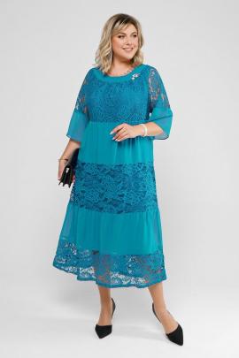 Платье Pretty 2008 морская-волна