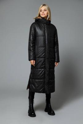 Пальто DiLiaFashion 0515 черный