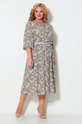 Платье Koketka i K 871 цветочный_принт