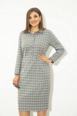 Платье JeRusi 2128 серый