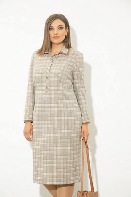 Платье JeRusi 2128 бежевый