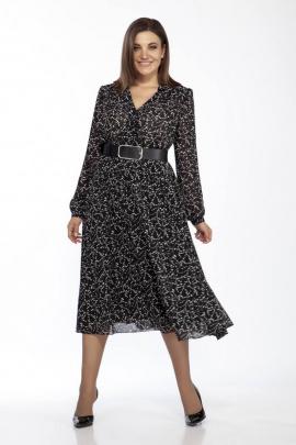 Платье IVA 1061 веточки