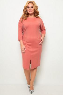 Платье Michel chic 2067 лосось
