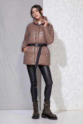 Куртка Beautiful&Free 4058 шоколад