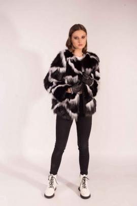 Куртка Мехофф Каролина70.52-06 черный,белый