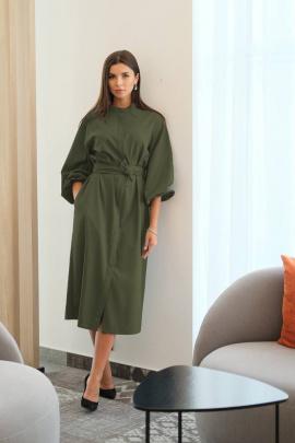 Платье LadisLine 1266 хаки