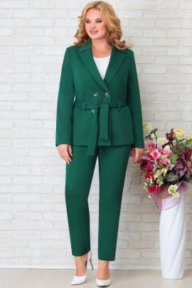 Брюки, Жакет Aira Style 852 зеленый