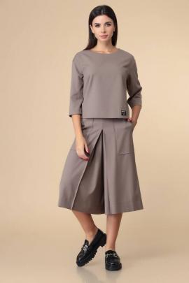 Брюки, Блуза Romanovich Style 2-2213 капучино