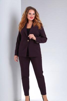 Женский костюм Vilena 603 баклажан