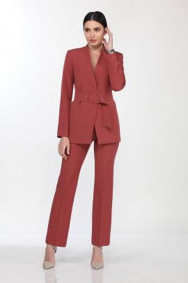 Женский костюм Vilena 646 индийский_красный