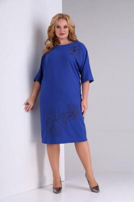 Платье SOVITA M-2130 василек