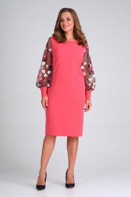 Платье ELGA 01-649 коралл