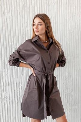 Платье KRASA 272-21 шоколад