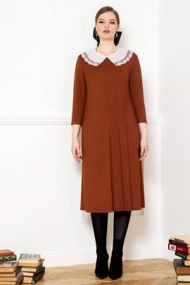 Платье VIZANTI 8142 коричневый