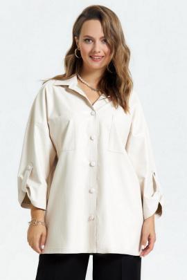 Рубашка TEZA 1794 молочный