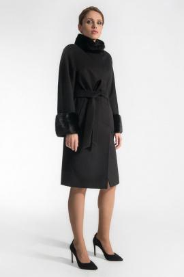 Пальто Gotti 180-1м темно-коричневый_меланж