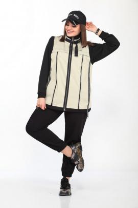Куртка Lady Secret 065 бежевый+черный