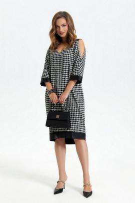 Платье TEZA 2947 черный