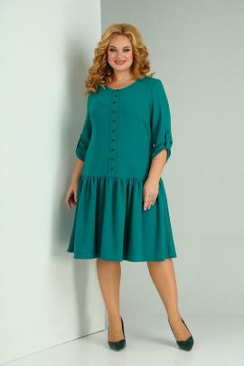 Платье SOVITA M-2129 изумруд