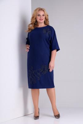 Платье SOVITA M-2130 синий