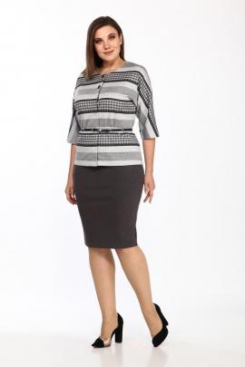 Женский костюм Lady Style Classic 1654/3 серый