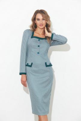 Платье SandyNa 130106 бирюза