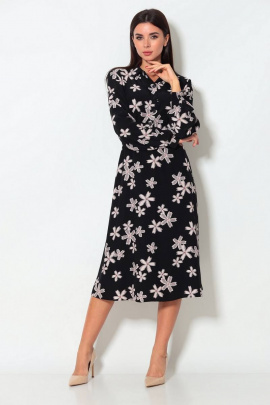 Платье Koketka i K 873 черный-серый