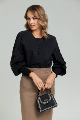 Блуза SandyNa 130413 черный