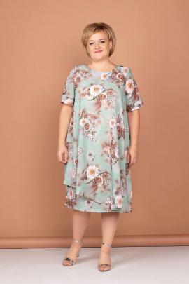 Платье Соджи 504 зелёный
