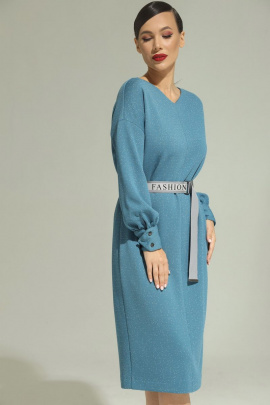 Платье Магия моды 1979 голубой