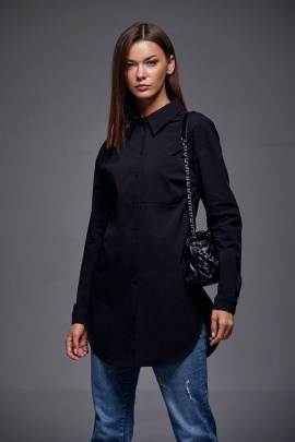 Рубашка Andrea Fashion AF-178 чёрный