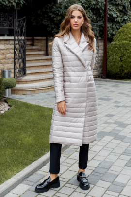 Пальто AYZE 2311 бежевый