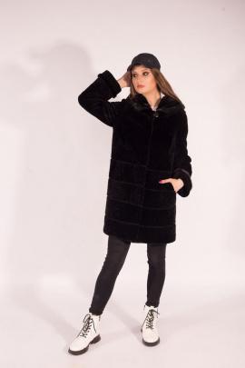 Пальто Мехофф Линия19-90.12-52 черный