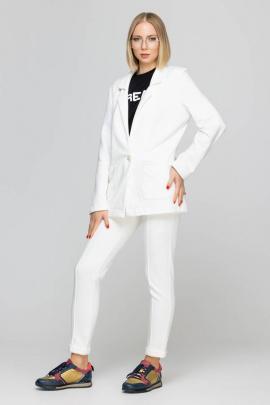 Женский костюм Domna 16075 молочный