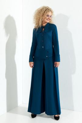 Женский костюм Euromoda 370 синий