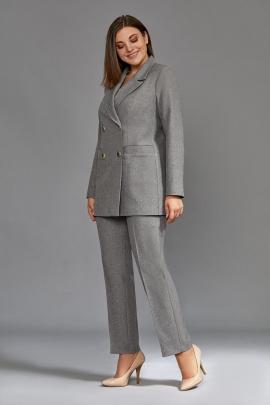 Женский костюм Mubliz 570 серый
