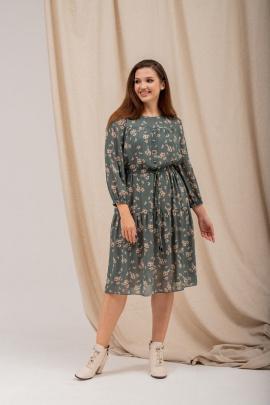 Платье Angelina 616 изумрудный_фон