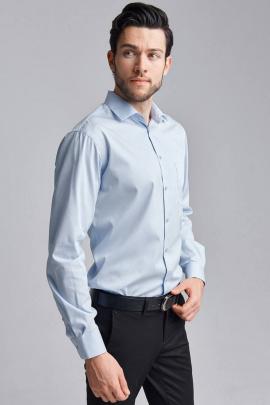 Рубашка Nadex 01-047312/204_182 голубой