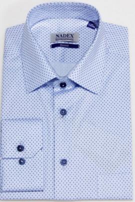 Рубашка Nadex 01-047312/505_182 сине-голубой