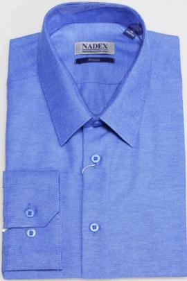 Рубашка Nadex 01-048612/203_170 меланж_синий