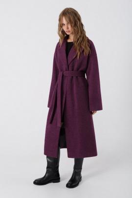 Пальто PiRS 3377 фиолетовый